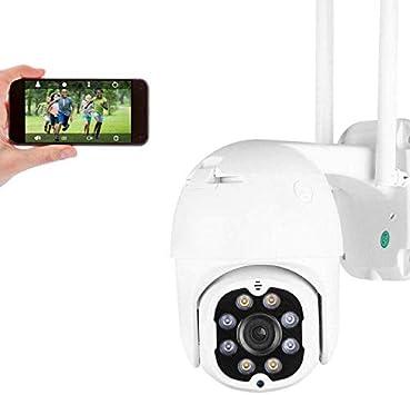 Opinión sobre 4MP Cámara de Seguridad WiFi Exterior, Aottom HD PTZ Camara Vigilancia Exterior, Cámara de Vigilancia, Audio de Dos Vías, Visión Nocturna 40M, Detección de Movimiento, Notificación de Alarma, IP66