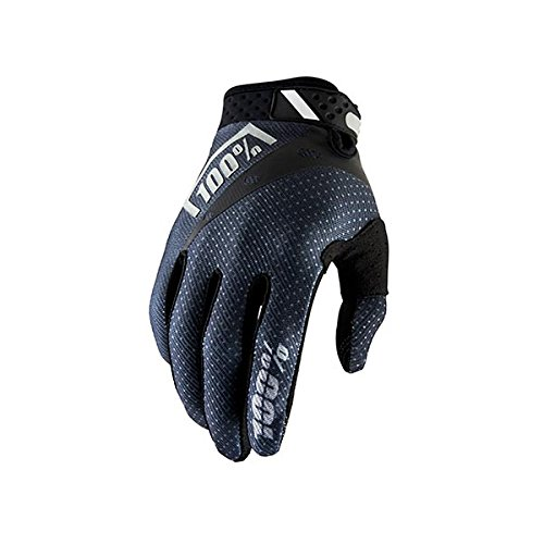 100% Unisex-Adult's Speedlab (10001-057-10)''RIDEFIT Glove Black - Small