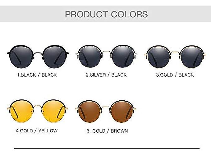 New Da Hd European color 3 Unisex Yiwu Trends Occhiali Frame Round The Anti-uv Accessori American 2019 Sole E And