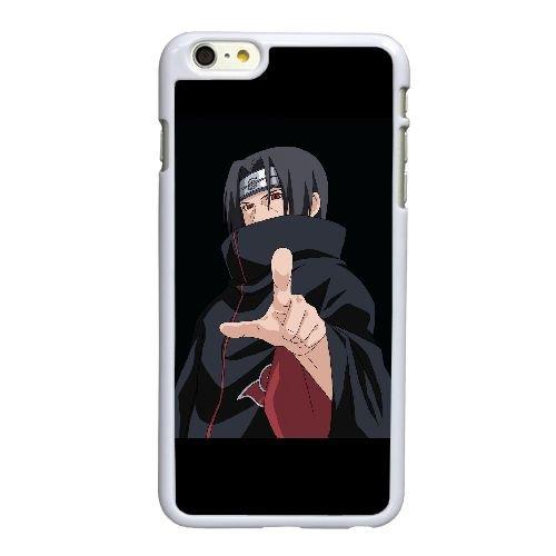 E6T29 Itachi Uchiha R4O5UQ coque iPhone 6 Plus de 5,5 pouces de cas de couverture de téléphone portable coque blanche DB9EYN1IU