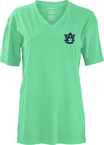 Auburn Tigers Square - Three Square by Royce Apparel NCAA Auburn Tigers Smitten V-Neck Short Sleeve T-Shirt, Large