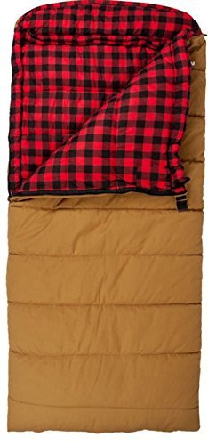 Sports Deer Hunter 0F Sleeping Bag, Brown, Right Zip by Sleeping Bag