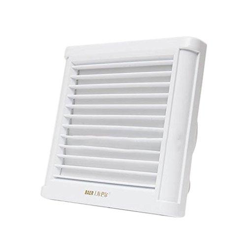 Premium Bathroom Exhaust Fan - LEEPRA Bathroom Kitchen Gusset Ceiling Wall Mount Exhaust Fan Ventilation Blower Air Fresh Ejector Fan