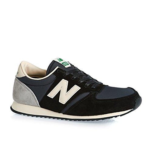 New Balance U420 - Zapatos de primeros pasos Hombre Black/Grey