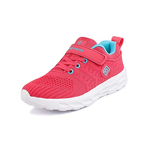 DREAM PAIRS Girls KD18001K Lightweight Breathable Running Athletic Sneakers Shoes Melon, Size 8 M US Toddler (Best Affordable Basketball Shoes 2019)