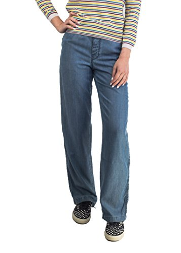 Prada Women's Lyocell Loose Fit Jean Pants - Prada Women For Clothing