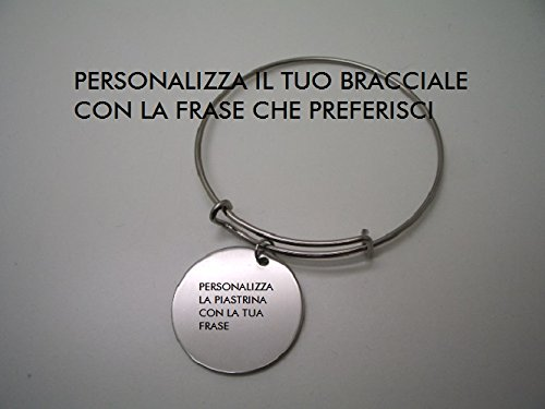 data di rilascio 093ef 57ad4 Col Cuore personalizza il tuo bracciale con la frase che ...