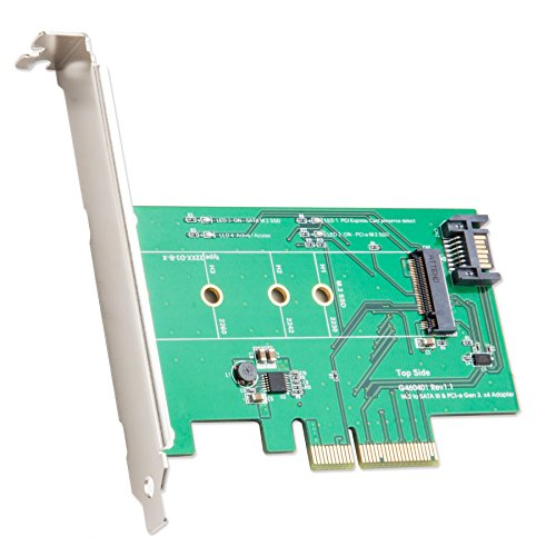 IO Crest M.2 to PCIe X4 SSD Adapter Components Other (SY-PEX50073)