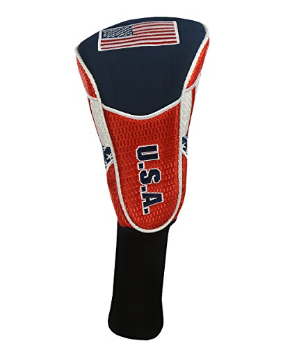 - Hot-Z Golf USA Flag Driver Cover