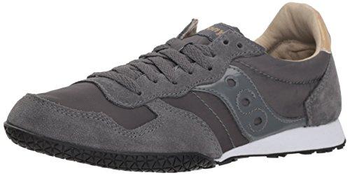 Saucony Women's Bullet Sneaker Grey/Tan