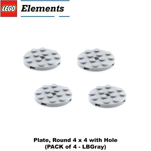 lego-parts-plate-round-4-x-4-with-hole-pack-of-4-lbgray
