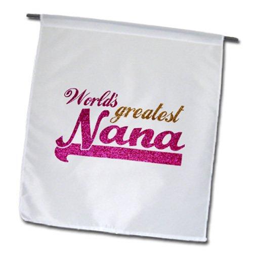 3dRose fl 151312 1 Nana Pink Text Gifts Grandmothers Best