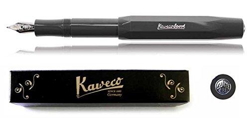 Kaweco Sport Skyline Fountain Pen - Grey - F Nib (fine)