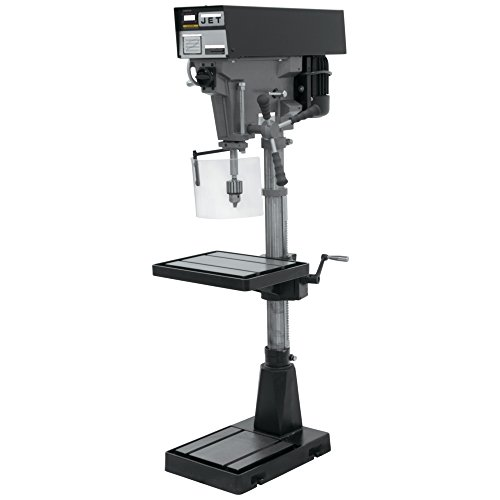 JET J-A5816 15-Inch 1-Horsepower 115 230-Volt Single Phase Variable Speed Floor Drill Press