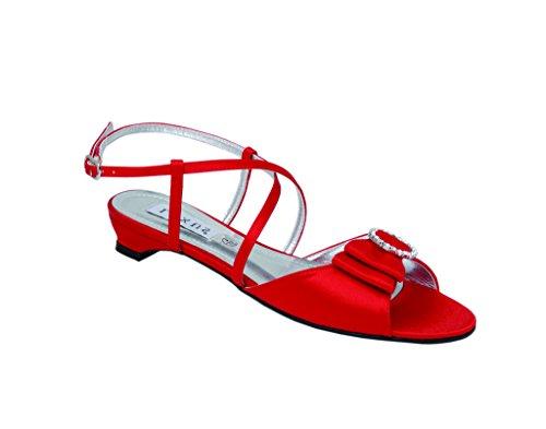 pour Rouge rouge Sandales femme LEXUS 5Sqzvwq
