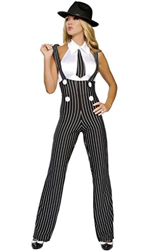Sexy Pin Up Gangster Girl Halloween Costume -