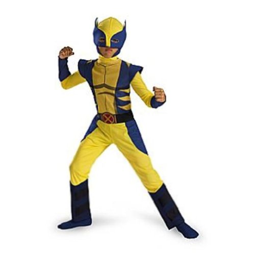 Child Deluxe Wolverine Costumes (Wolverine Origins)