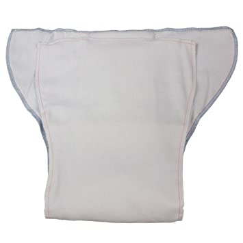 Fitted adult cloth diapers