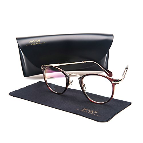 Eyewear Frames Eyeglasses Optical Frame Round Elegant Clear Lens Glasses For - Face Shapes Eyeglass Frames Round For