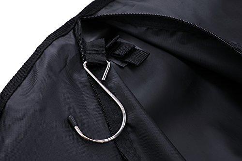 Magictodoor Travel Garment Bag 40'' for Suit/Dress w/Adjustable Handle by Magictodoor (Image #6)