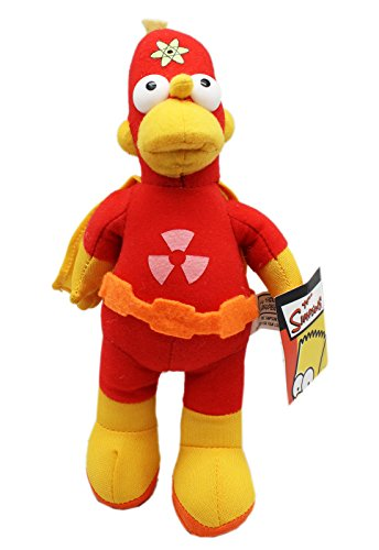 The Simpsons' Radioactive Man Small Size Stuffed Kids Toy (9in)