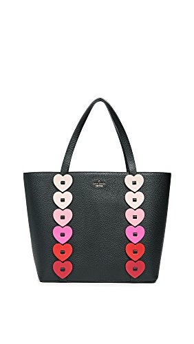 Kate Spade New York Women's Ours Truly Ombre Heart Tote, Black Multi, One Size by Kate Spade New York