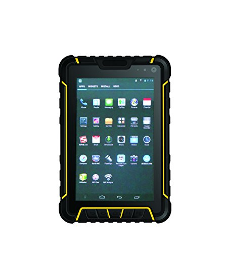 IP67 Rugged Tablet PC, Incorporated Symbol Scanner & RFID/NFC, Android 4.4 / (Symbol Bluetooth Handheld Pda)