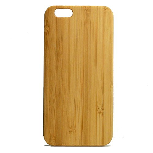 Bamboo Wood iPhone 6 or iPhone 6S Case Eco Friendly Natural Grain Protective Cover Plain Sleek Minimialist Skin