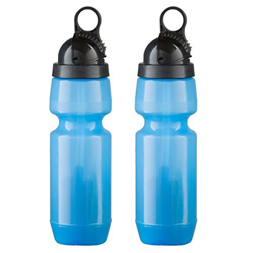 Sport Berkey Filtered Water Bottle - BPA Free Lightweight Self Filtering bottle removes harmful contaminants from tap, lake, river water & more! 22 ounce, 2 Pack by Berkey