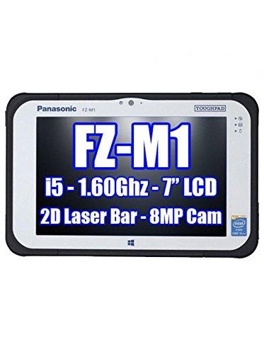 PANASONIC TOUGHPAD FZ-M1 FZ-M1CCFEXCM SMARTCARD, 2D BAR LASER, 128GB SSD, 4GB Ram, Windows 7 Pro