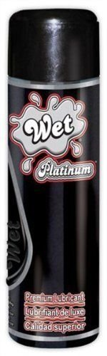 Siam Circus Wet Platinum Personal Lubricant Silicone-Based Lube 8.9 Oz 12 Pack Wholesale