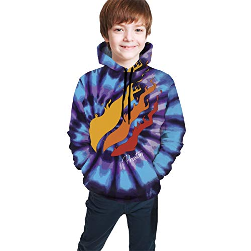 Preston Fire Nation Playz Gamer Flame 3D Print Hoodie Sweatshirts Video Game for Kids Preston-AC-XL