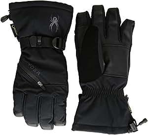 Spyder Men's Vital 3 in 1 Gore-tex Ski Glove, Black/Black/Black, Small