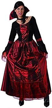 Atosa Disfraz de vampiresa para mujer| ideal para Halloween ...