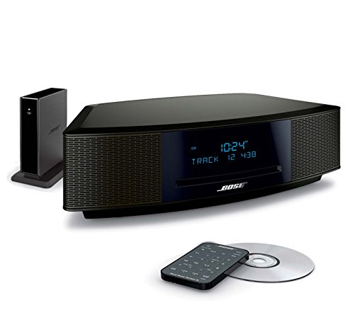 (Bose Wave Music System IV Bundle with Bluetooth Adapter II - Espresso Black )
