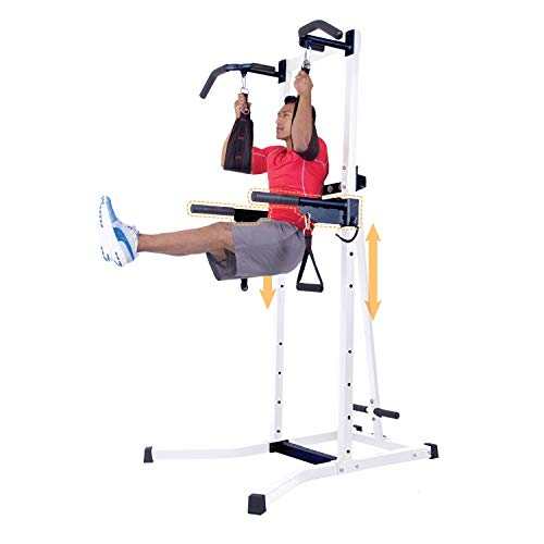 Body Power Multi-Functional Power Tower PT728 (Body Power Deluxe Multifunctional Power Tower Exercises)