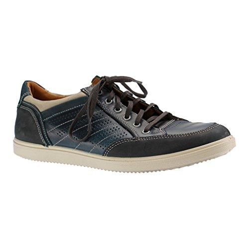 Jomos Herren Halbschuhe - Blau Schuhe in Übergrößen Dunkelblau