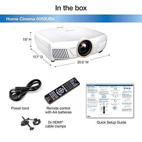Epson Home Cinema 5050UBe 4K PRO-UHD Projector