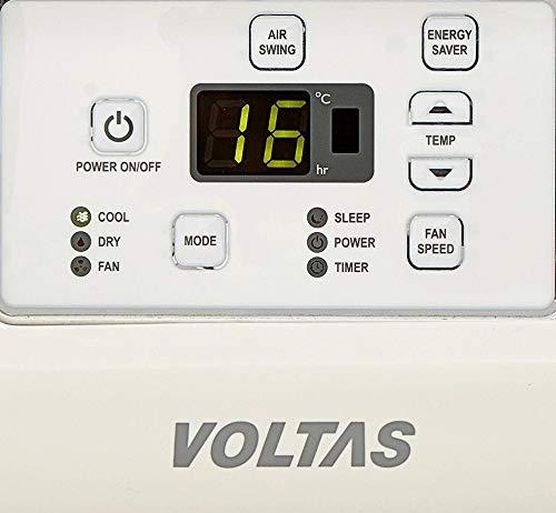 Voltas 1.5 Ton Hot & Cold Window AC (Copper 18H CZP White) 5