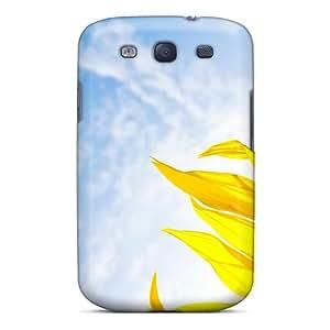 High Quality ToCFZCj4609tLNuE Nature Flowers Bright Sunflower Tpu Case For Galaxy S3