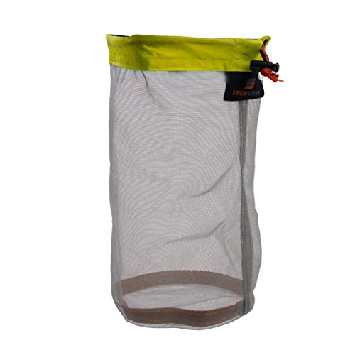 Ultra Light Mesh Stuff Sack Storage Bag for Tavel Camping Size M - 2