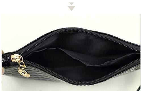 eab56491e Bolsos Bandolera Bolso Clasicas Mujer Elegante Negro Zerol Juvenil Comodas  Mensajero Para De Juveniles qx0aXwa
