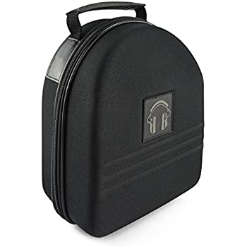 257480de783 Headphone Full Size Large Hard Carrying Case / Travel Bag with Space for  Cable, AMP,Parts and Accessories (Fit Beats Executive, PRO, Studio, Diamond  Tear, ...