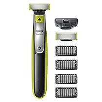 Philips OneBlade QP2530/30 - Recortador de barba, recorta, perfila y afeita, recargable