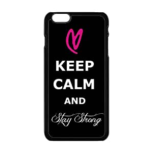 Creative Keep Calm And Stay Strong Pattern Fahionable And Popular High Quality Back Case Cover For Iphone 6 Plaus