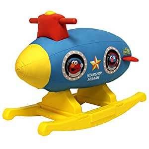 Sesame Street Rocking Space Ship