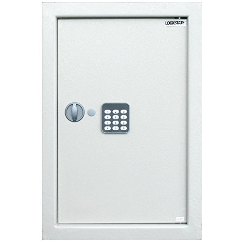 LS-52EN: A perfect big Digital Wall Safe by LockState