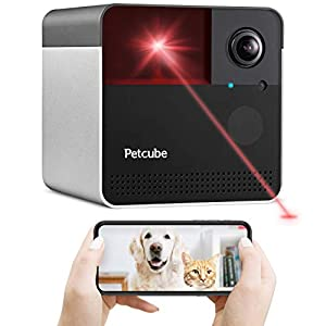 [New 2020] Petcube Play 2 Wi-Fi Pet Camera with Laser Toy & Alexa Built-In, for Cats & Dogs. 1080P HD Video, 160° Full…
