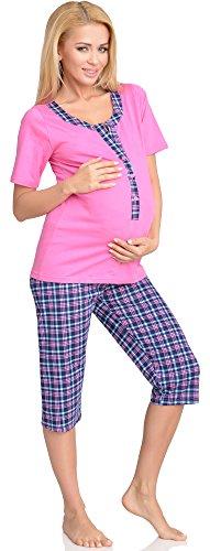 H2L2N2 Pigiama Mammy Funzione Premaman rosa Allattamento Be con pqwfYw7