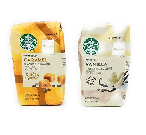 Starbucks Flavoured Coffee Caramel and Vanilla